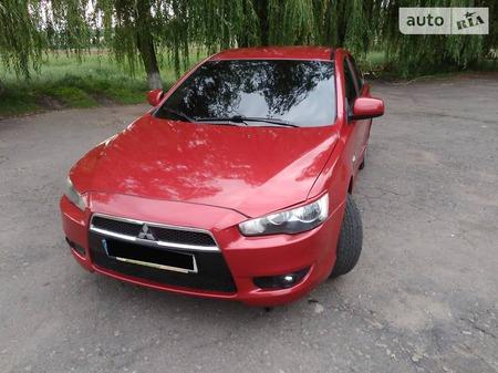 Mitsubishi Lancer 2007  выпуска Донецк с двигателем 2 л бензин седан автомат за 7000 долл.