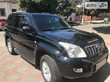 Toyota Land Cruiser Prado 2006  выпуска Харьков с двигателем 4 л газ внедорожник автомат за 18500 долл.