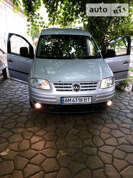 Volkswagen Caddy 2005  выпуска Житомир с двигателем 2 л дизель минивэн механика за 5300 долл.