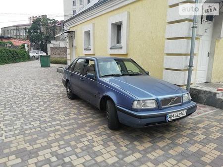 Volvo 440 1995  выпуска Луцк с двигателем 2 л газ седан механика за 1800 долл.