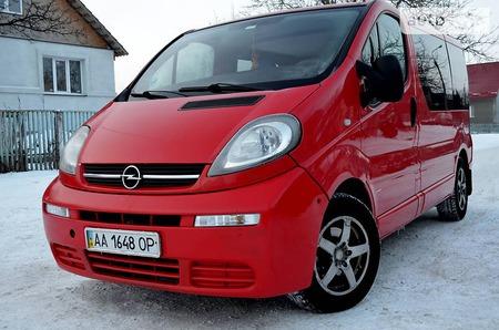 Opel Vivaro 2006  выпуска Хмельницкий с двигателем 1.9 л дизель минивэн механика за 7499 долл.