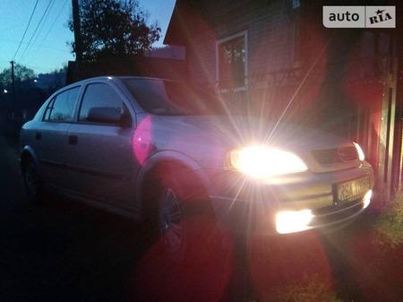 Opel Astra 1998  выпуска Ужгород с двигателем 1.7 л дизель седан механика за 1570 долл.