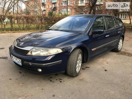 Renault Laguna 2004  выпуска Хмельницкий с двигателем 1.9 л дизель универсал механика за 1500 долл.