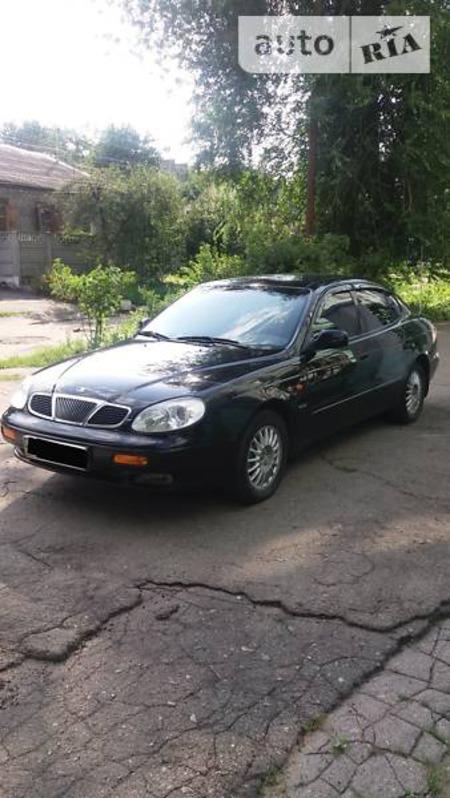 Daewoo Leganza 1999  выпуска Днепропетровск с двигателем 2 л газ седан механика за 3900 долл.