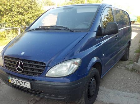 Mercedes-Benz Vito 2008  выпуска Днепропетровск с двигателем 2.2 л дизель  механика за 7200 долл.