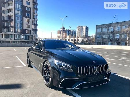 Mercedes-Benz S 63 AMG 2018  выпуска Киев с двигателем 4 л бензин купе автомат за 217777 долл.