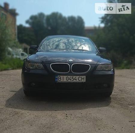BMW 520 2006  выпуска Полтава с двигателем 2 л дизель седан автомат за 10700 долл.