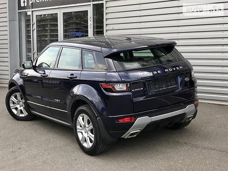 Land Rover Range Rover Evoque 2016  выпуска Киев с двигателем 2.2 л дизель внедорожник автомат за 38800 долл.