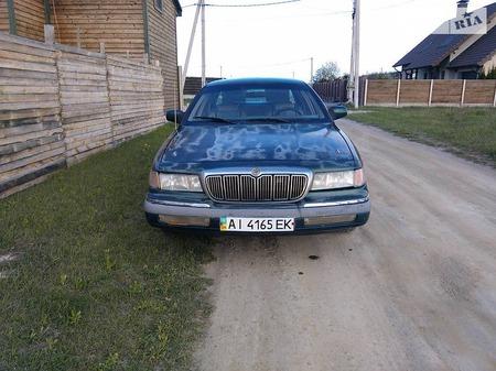 Mercury Grand Marquis 1993  выпуска Киев с двигателем 4.6 л газ седан автомат за 2500 долл.
