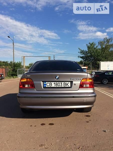 BMW 520 1997  выпуска Чернигов с двигателем 2 л бензин седан механика за 5800 долл.