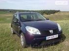 Dacia Sandero 2010 Житомир 1.4 л  хэтчбек механика к.п.