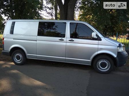 Volkswagen Transporter 2009  выпуска Чернигов с двигателем 2.5 л дизель минивэн механика за 9200 долл.