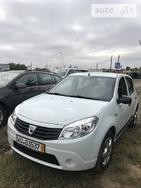 Dacia Sandero 2010 Полтава 1.2 л  хэтчбек механика к.п.