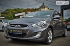 Hyundai Accent 2012 Киев 1.6 л  седан механика к.п.